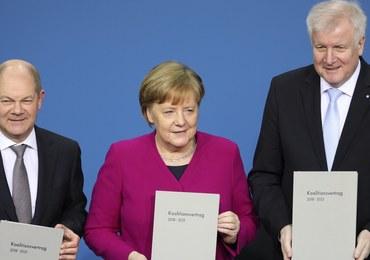 """Chadecja i SPD podpisały umowę koalicyjną. """"Mija okres niepewności"""""""