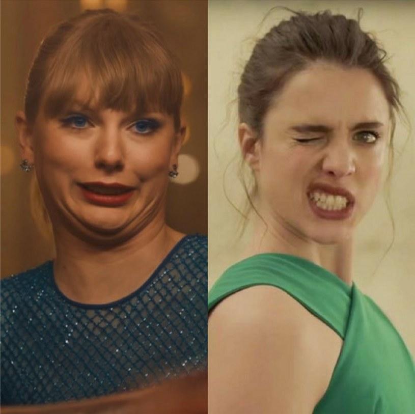 """Taylor Swift zaprezentowała teledysk do singla """"Delicate"""". Wielu internautów zarzuca jej, że klip bardzo przypomina reklamę perfum Kenzo World wyreżyserowaną przez Spike'a Jonze'a."""
