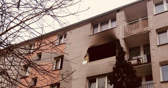 34-letnia kobieta, która została poparzona w wybuchu gazu w bloku przy ulicy Dąbrowskiego w Łodzi, jest w stanie ciężkim - informuje dziennikarka RMF FM Agnieszka Wyderka. Najbardziej prawdopodobną przyczyną eksplozji było rozszczelnienie instalacji gazowej