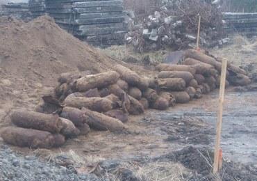 Na terenie bazy wojskowej znaleziono 160 bomb z czasów II wojny światowej