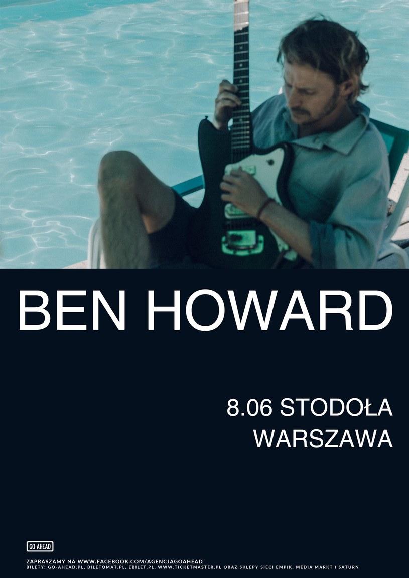 Ben Howard ponownie wystąpi w Polsce. Brytyjski artysta zagra 8 czerwca w warszawskiej Stodole.