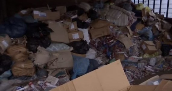Półtorej tony szczątków ludzkich znaleziono w opuszczonym magazynie w ukraińskim Zaporożu. Według mediów, okna w budynku były rozbite, a całej posiadłości nikt nie pilnował.