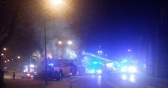 Pożar w Sosnowcu. W ogniu stanął pustostan przy ulicy Kombajnistów. Informację dostaliśmy na Gorącą Linię RMF FM.