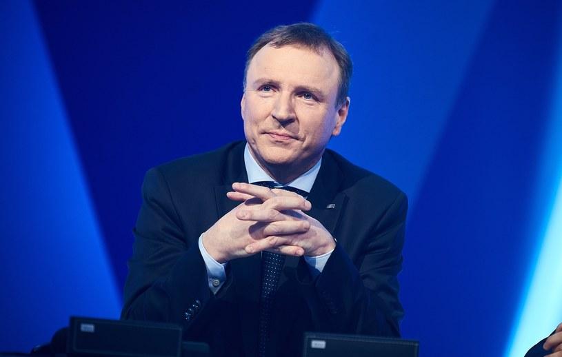 Statuetkę Złotego Trubadura otrzymał prezes TVP Jacek Kurski.