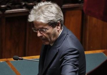 Premier Włoch złożył dymisję rządu