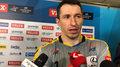 Sławomir Szmal po pierwszym meczu 1/8 finału Ligi Mistrzów. Wideo