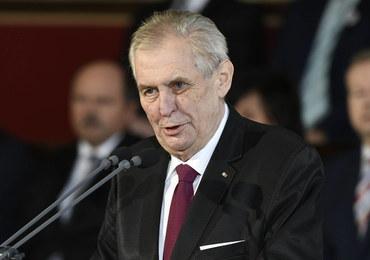 Zeman nakazał sprawdzenie, czy nowiczok był produkowany w Czechach