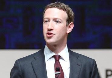 Zuckerberg zaproszony do złożenia zeznań przed senacką komisją sądownictwa