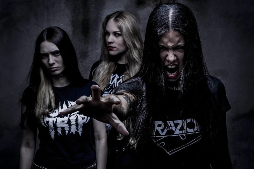Thrashmetalowa grupa Nervosa z Brazylii nagrała trzeci album.