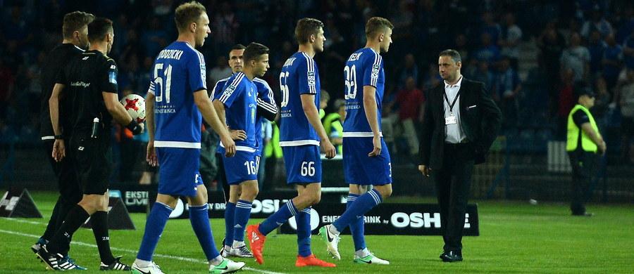 """Zaległości licencyjne pierwszoligowego piłkarskiego Ruchu Chorzów zostały w czwartek spłacone i w związku z tym """"Niebiescy"""" odzyskają sześć odjętych punktów – poinformował klub w komunikacie."""