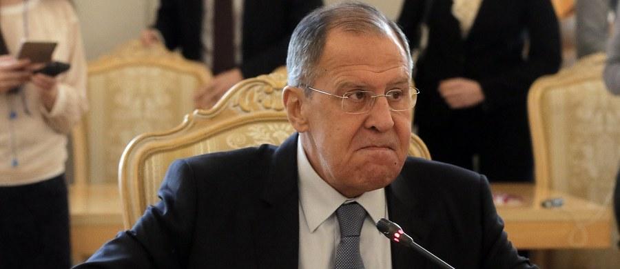 To, jak bardzo wzrosną napięcia między Rosją a Zachodem w związku z atakiem na podwójnego agenta Siergieja Skripala nie zależy od Moskwy - powiedział w poniedziałek na konferencji prasowej rosyjski minister spraw zagranicznych Siergiej Ławrow.