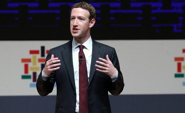 Szef Facebooka Mark Zuckerberg będzie zeznawał 10 kwietnia przed senackimi komisjami sądownictwa i handlu - podał Reuters. Posiedzenie odbędzie się w sprawie ochrony, przechowywania i udostępniania danych użytkowników, w tym w celach komercyjnych.