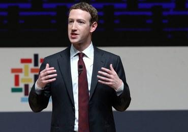 Afera ws. danych użytkowników Facebooka. Mark Zuckerberg złoży zeznania w amerykańskim Senacie