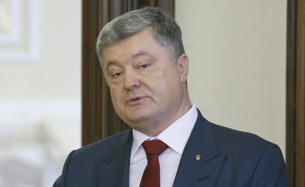 Prezydent Ukrainy Petro Poroszenko oświadczył, że oczekuje od Rady Bezpieczeństwa Narodowego i Obrony synchronizacji sankcji swego kraju wobec Rosji z nowymi restrykcjami nałożonymi przez USA na rosyjskich biznesmenów, urzędników i firmy.