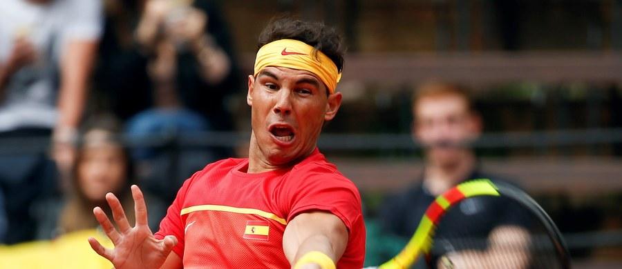Hiszpan Rafael Nadal gładko pokonał Niemca Philippa Kohlschreibera 6:2, 6:2, 6:3 w rozgrywanym w Walencji meczu ćwierćfinałowym Pucharu Davisa. Był to pierwszy występ tenisisty z Majorki od stycznia, gdy z powodu kontuzji zrezygnował z gry w ćwierćfinale Australian Open.