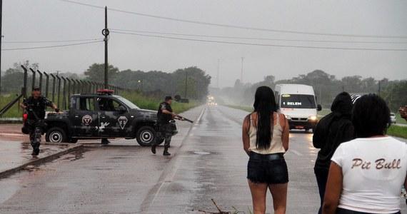 Co najmniej 21 osób zginęło  przy próbie masowej ucieczki z więzienia Santa Izabel w pobliżu miasta Belem, w położonym na północy Brazylii stanie Para. Informację przekazał stanowy Sekretariat ds. Bezpieczeństwa Publicznego.