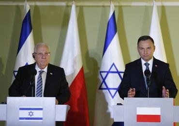 Prezydent Izraela: Domagamy się, by Polska była odpowiedzialna za pełne badanie historii Zagłady