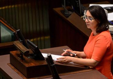 Kamila Gasiuk-Pihowicz ukarana przez Prezydium Sejmu