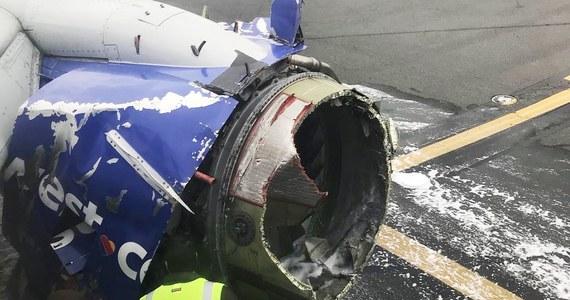 Jedna osoba zginęła po tym, jak w czasie lotu eksplodował silnik samolotu. Fragmenty jego poszycia uderzając w kadłub wybiły szybę w kabinie pasażerskiej, co spowodowało nagły spadek ciśnienia. Pasażerka została wessana do wytworzonej w ten sposób dziury. To pierwszy od 2009 roku w USA tragiczny wypadek na pokładzie cywilnego samolotu - podała Narodowa Rada Bezpieczeństwa Transportu.
