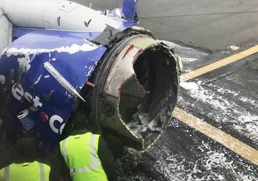 Eksplozja silnika w czasie lotu. Zginęła jedna osoba