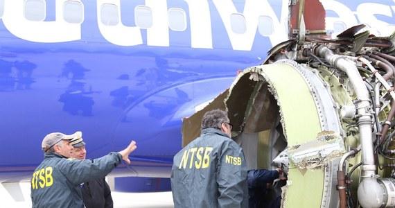 Federalna Administracja Lotnicza (FAA) poinformowała w środę, że zarządzi przegląd ok. 220 silników lotniczych takiego typu, jak silnik, który rozerwał się podczas lotu w maszynie linii Southwest powodując śmierć jednej osoby.