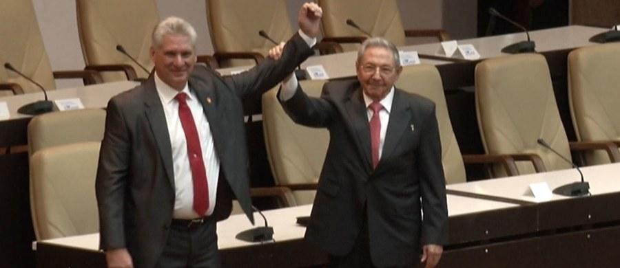 Miguel Diaz Canel został wybrany na nowego prezydenta Kuby. W ten sposób kończy się czas prawie 60 lat rządów Fidela i Raula Castro w tym kraju.