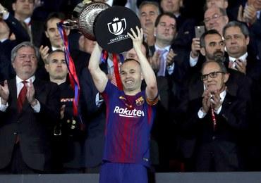 Barcelona z Pucharem Króla. Pożegnanie legendy klubu