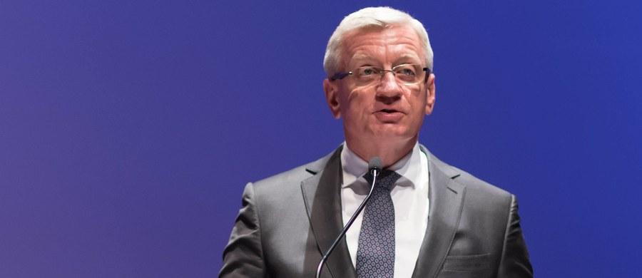Prezydent Poznania Jacek Jaśkowiak będzie wspólnym kandydatem Platformy Obywatelskiej i Nowoczesnej na ten urząd w nadchodzących wyborach samorządowych - taką decyzję ogłosili  liderzy obu ugrupowań podczas regionalnej konwencji PO i Nowoczesnej w Poznaniu.