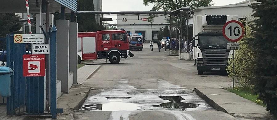 10 osób ucierpiało w wyniku wycieku amoniaku w zakładach drobiarskich w Międzyrzecu Podlaskim na Lubelszczyźnie. Sześć z nich przewieziono do szpitala. Straż pożarna ewakuowała pracowników. W tej chwili, jak zapewnia, nie ma już zagrożenia. Informację o tym zdarzeniu dostaliśmy od Słuchacza na Gorącą linię RMF FM.