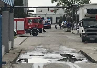 Międzyrzec Podlaski: Znów wyciek amoniaku w zakładach drobiarskich. Ucierpiało 10 osób
