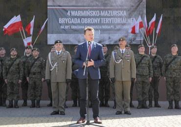 Minister Błaszczak rusza do USA
