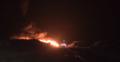 RMF: Wielki pożar składowiska odpadów pod Śremem