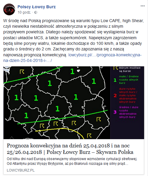 /Łowcy Burz/Facebook /