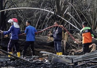 Rośnie bilans ofiar pożaru szybu naftowego w Indonezji. Zginęło 21 osób