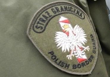Funkcjonariusz Straży Granicznej uratował z pożaru dwójkę dzieci