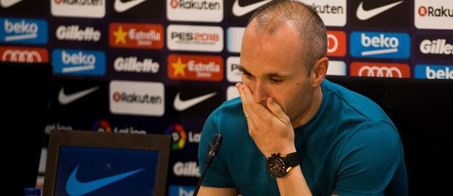 """Andres Iniesta, który od prawie 16 lat broni barw pierwszego zespołu Barcelony, potwierdził, że trwający sezon jest jego ostatnim w katalońskim klubie. """"To decyzja szczegółowo przemyślana"""" - powiedział na konferencji prasowej 33-letni piłkarz."""