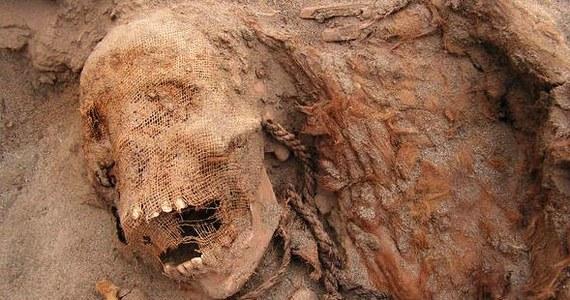 Archeolodzy odkryli prawdopodobnie największy grób masowy, w którym pochowanych zostało 140 dzieci. Zostały poświęcone w ofierze w trakcie jeden ceremonii, która odbyła się około 550 lat temu w Peru.