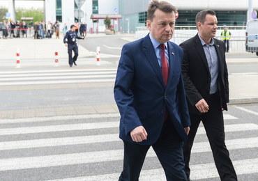 """Błaszczak zadowolony z rozmów w Waszyngtonie. """"Bardzo dobra współpraca Polski i USA"""""""