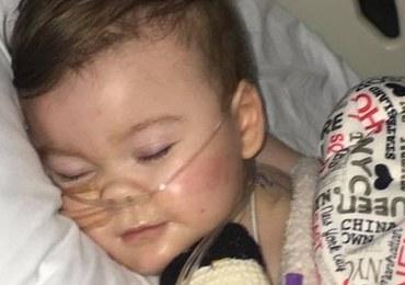 Rodzina Alfiego Evansa zaprzecza, że ojciec zabarykadował się w szpitalu