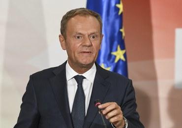 Donald Tusk nagrodzony za promowanie Polski w Europie