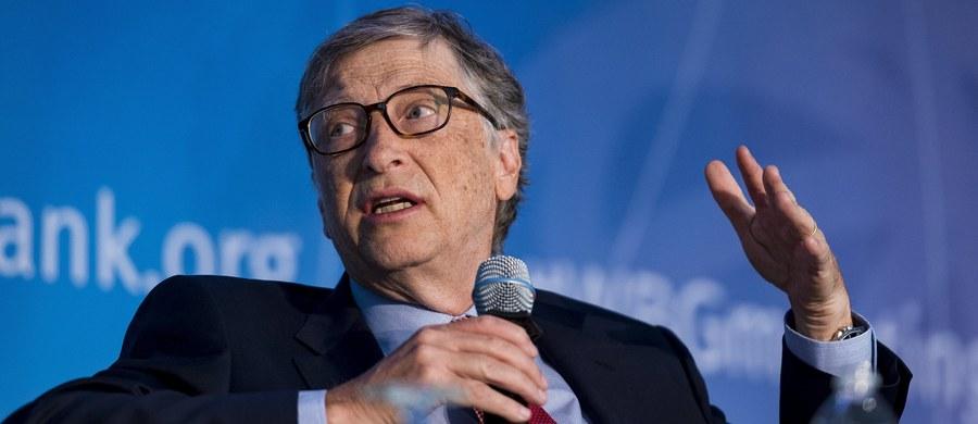 Bill Gates ostrzega, że państwa na całym świecie powinny przygotowywać się do następnej pandemii w taki sam sposób, jak do wojny.