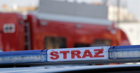 Katastrofa motolotni w rejonie miejscowości Skorupy na Mazowszu. Maszyna spadła na ziemię po południu. Zginął mężczyzna.