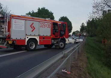 Tragedia na drodze w Małopolsce. W zderzeniu zginęły trzy osoby