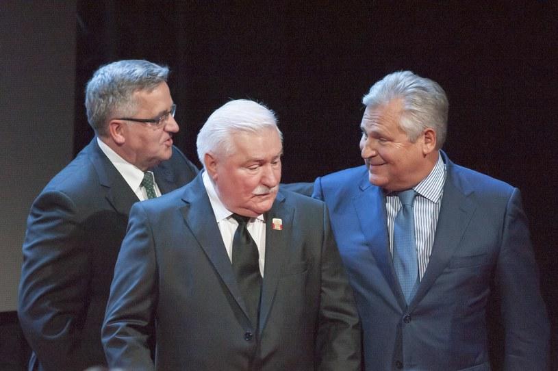 Wojciech Jaruzelski, Lech Wałęsa, Aleksander Kwaśniewski, Lech Kaczyński, Bronisław Komorowski, Andrzej Duda