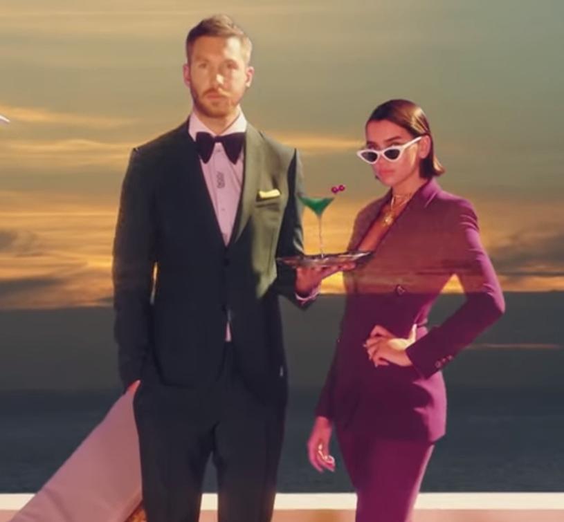 """Już ponad 4 mln odsłon ma oficjalny teledysk do wspólnego singla """"One Kiss"""" producenta Calvina Harrisa i wokalistki Duy Lipy."""