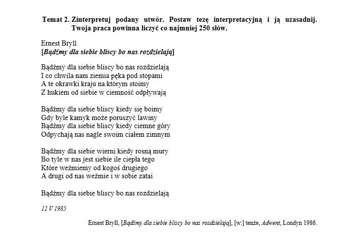 Matura 2018 Język Polski Poziom Podstawowy Arkusz Cke I