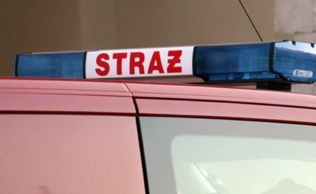 Dwie osoby zostały ranne w wypadku na drodze S8 w miejscowości Koźlin (woj. łódzkie). Bus najechał tam na samochód ciężarowy.