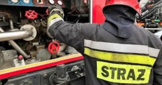 Pożar torfowisk, łąk i nieużytków w okolicach Lipnicy Wielkiej w powiecie nowotarskim. Do akcji gaszenia przyjechało 15 zastępów straży pożarnej.
