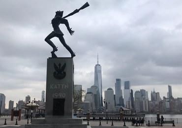 Manifestacja w Jersey City przeciw planom przesunięcia Pomnika Katyńskiego
