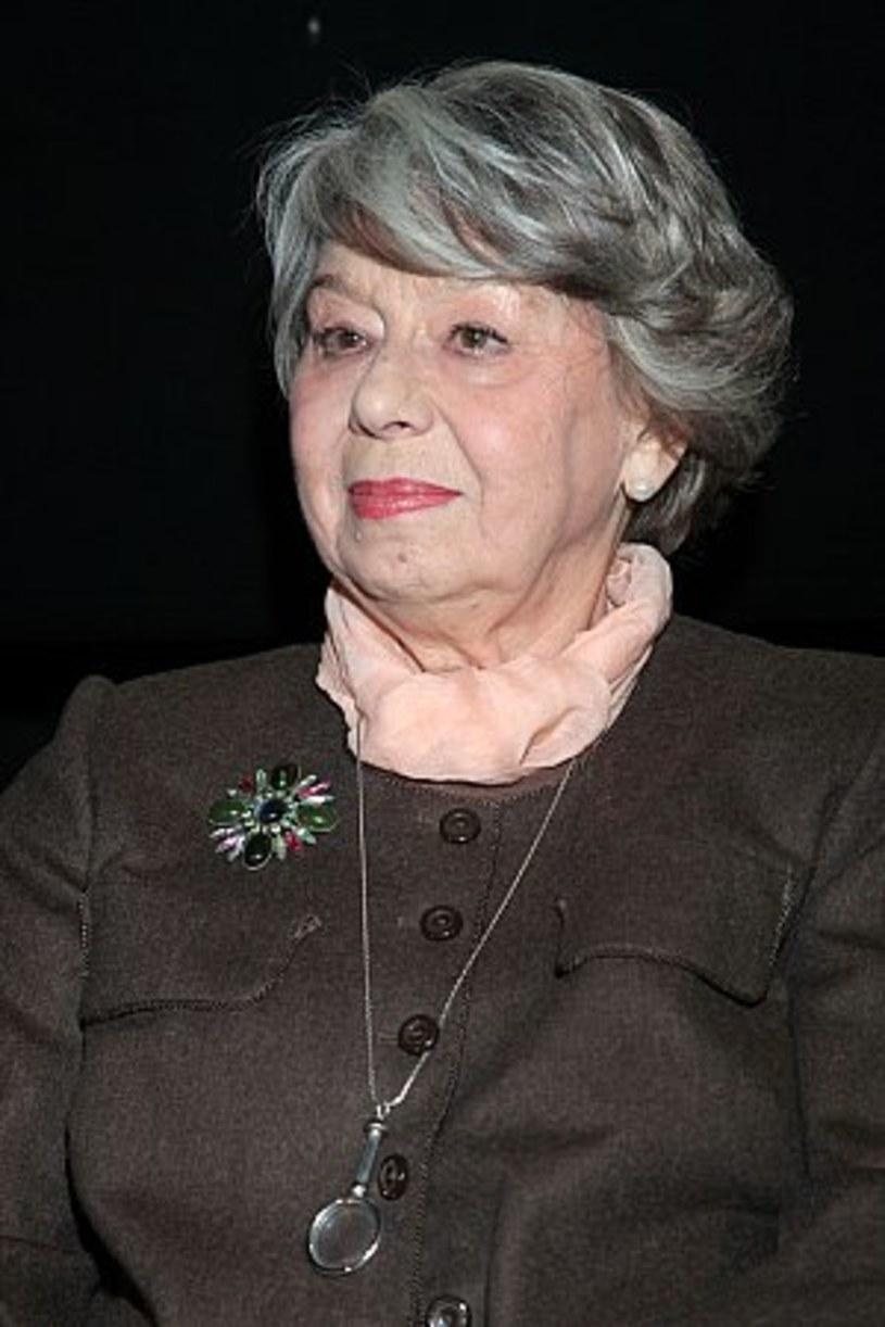 Zofia Kucówna - polska aktorka teatralna i filmowa, pedagog i pisarka - skończyła w sobotę, 12 maja, 85 lat.